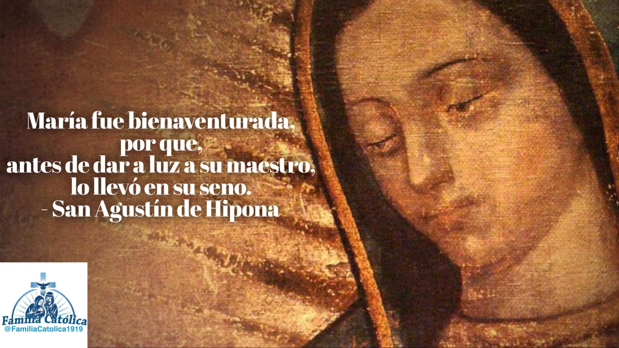 Frases De Santos Católicos Sobre La Virgen María Familia